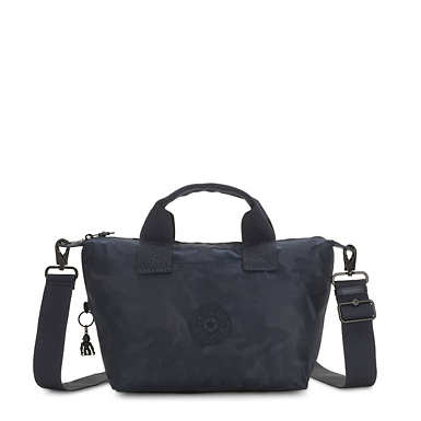 Kala Mini Handbag - Satin Camo Blue