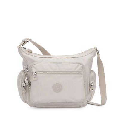 Gabbie Small Crossbody Bag - Glimmer Grey