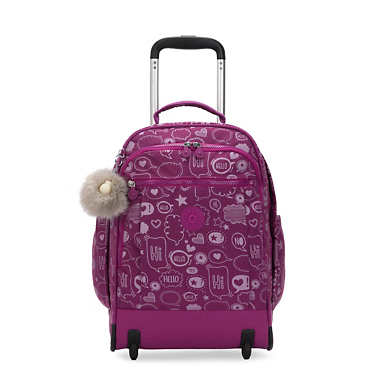 키플링 게이즈 랩탑 롤링 백팩 15인치 라지 Kipling Gaze Large Printed 15 Laptop Rolling Backpack,Statement