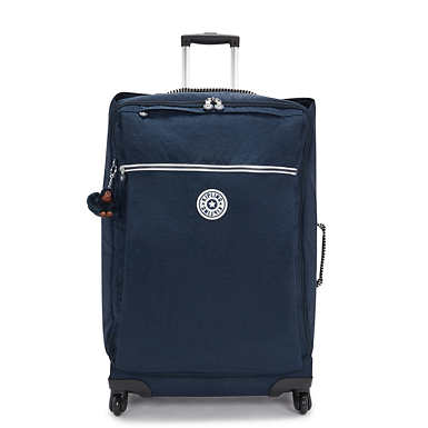 키플링 캐리어 라지 Kipling Darcey Large Rolling,Striped Web Blue