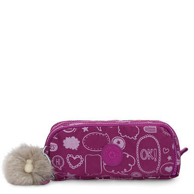 Gitroy Printed Pencil Case - Statement