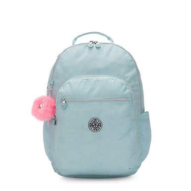 키플링 서울 랩탑 백팩 엑스라지 17인치 Kipling Seoul Extra Large 17 Laptop Backpack,Glimmer Teal