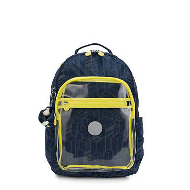 "Seoul Large 15"" Laptop Backpack - Build Flash Block"