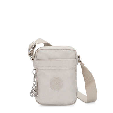Hisa Mini Crossbody Bag - Glimmer Grey