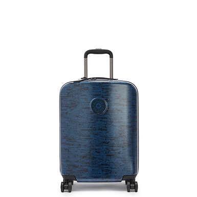 키플링 큐리오시티 롤링 캐리어 스몰 Kipling Curiosity Small Printed 4 Wheeled Rolling Luggage,Blue Eclipse Print