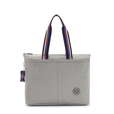 """Chika 13"""" Laptop Tote Bag - Grey Ripstop"""