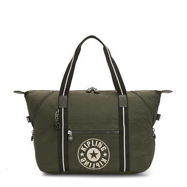 Art Medium Tote - Jaded Green