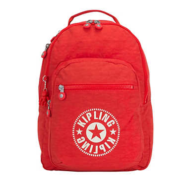 Clas Seoul Large Laptop Backpack - Active Red
