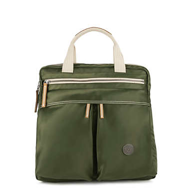 Komori Small Tote-Backpack - Elevated Green