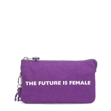 Creativity Large Pouch - Future Purple