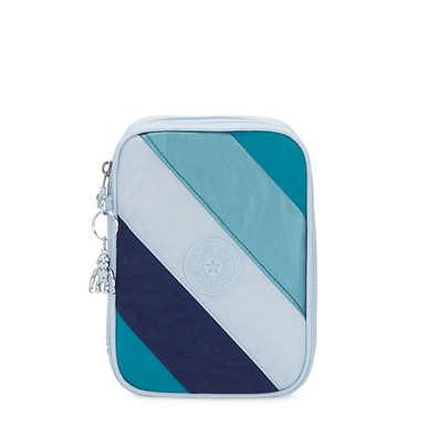 100 Pens Case - Blue Mix Block