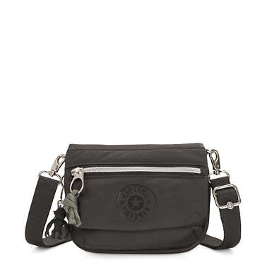 키플링 튤리아 벨트백 미니 Kipling Tulia Mini Convertible Bag,Cold Black