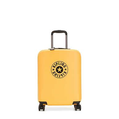 키플링 여행 하드 캐리어 스몰 Kipling Curiosity Small 4 Wheeled Rolling Luggage,Vivid Yellow