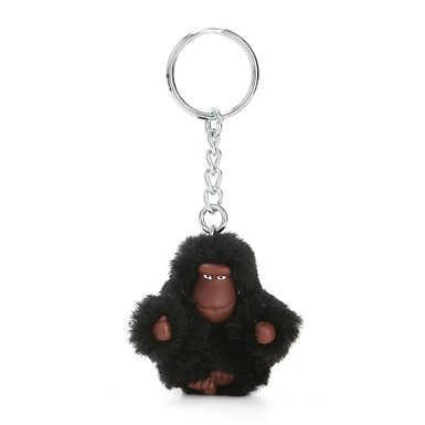 Sven Extra Small Monkey Keychain - True Black