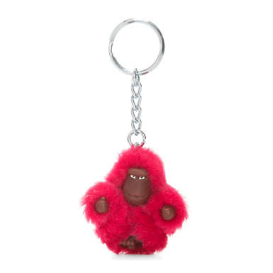 Sven Extra Small Monkey Keychain - True Pink