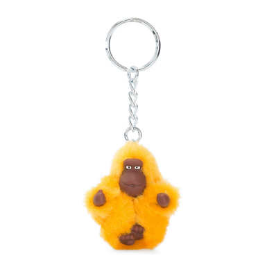 Monkey Keychain Extra Small - Vivid Yellow