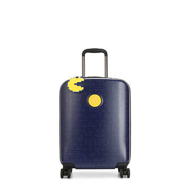 Pac-Man Curiosity Small 4 Wheeled Rolling Luggage - Pac Man Good