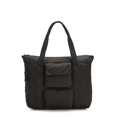Asseni Extra Tote Bag - Cold Black