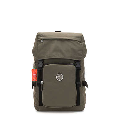 Yantis Laptop Backpack - Cool Moss