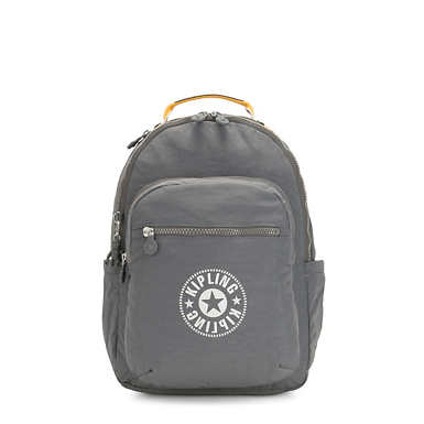 "Seoul Large 15"" Laptop Backpack - Dark Carbon"