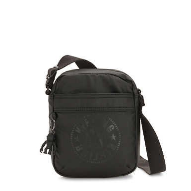Hisa Crossbody Bag - Raw Black