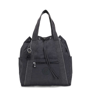 키플링 Kipling Art Backpack Small Handbag,Night Grey