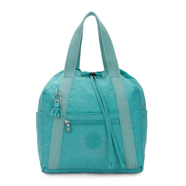 Art Small Tote Backpack - Seaglass Blue