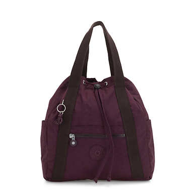 Art Small Convertible Bag - Dark Plum