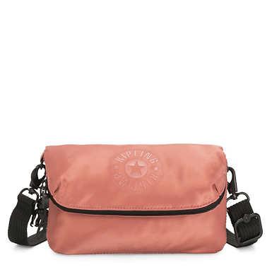 Ibri Mini Convertible Bag - Satin Rust