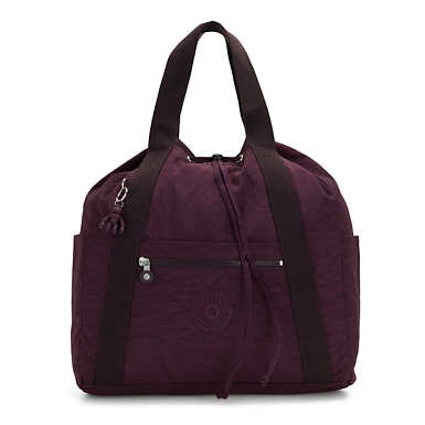 Art Medium Tote Backpack - Dark Plum