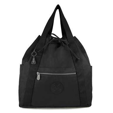 Art Medium Tote Backpack - Rich Black