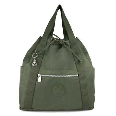 Art Medium Tote Backpack - Rich Green