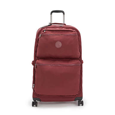 City Spinner Large Rolling Luggage - Intense Maroon
