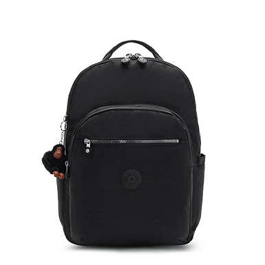 "Seoul Extra Large 17"" Laptop Backpack - True Black"