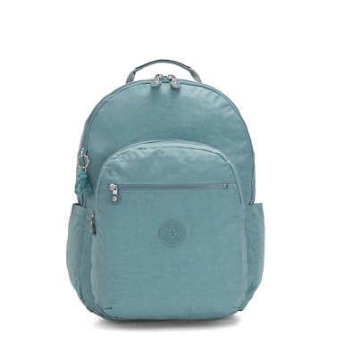 Seoul Extra large Laptop Backpack - Aqua Frost