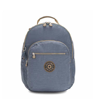"Seoul Extra Large 17"" Laptop Backpack - Stone Blue"