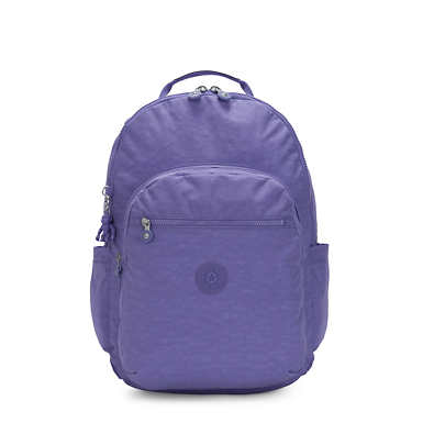"Seoul Extra Large 17"" Laptop Backpack - Eggplant Purple"