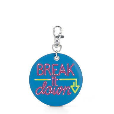 Break It Down Monkey Keychain Charm - Multicolor