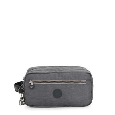 Agot Large Toiletry Bag - Charcoal