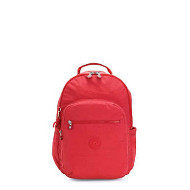 Seoul Small Tablet Backpack - Red Rouge