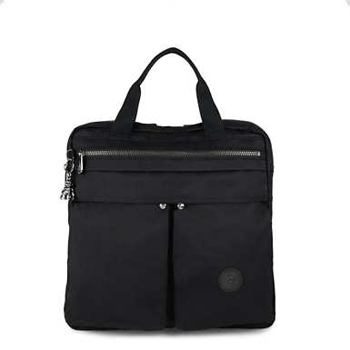 Komori Small Tote-Backpack - Rich Black