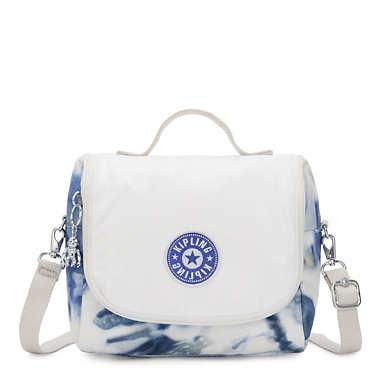 Kichirou Metallic Lunch Bag - Tie Dye Blue Lacquer