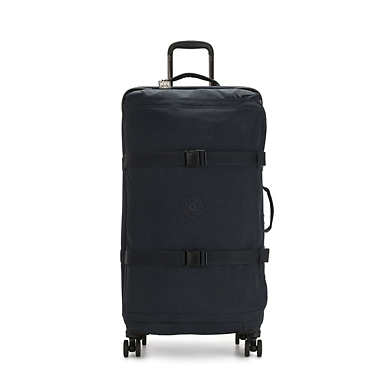 키플링 캐리어 Kipling Spontaneous Large Rolling Luggage,Blue Bleu