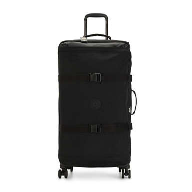 키플링 캐리어 Kipling Spontaneous Large Rolling Luggage,Black Noir