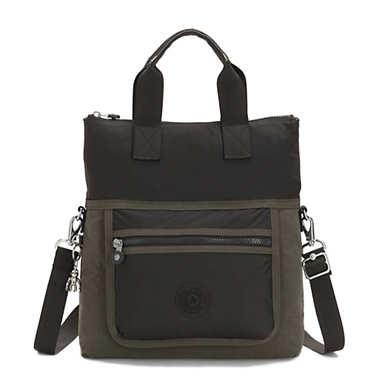 Eleva Convertible Tote Bag - Cold Olive
