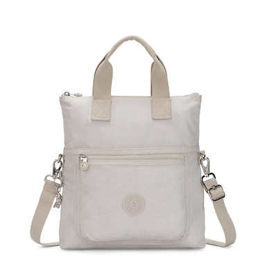 Eleva Convertible Tote Bag - Glimmer Grey