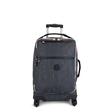 Darcey Small Carry-on Rolling Luggage - Active Denim