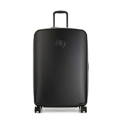 키플링 여행 하드 캐리어 라지 Kipling Curiosity Large 4 Wheeled Rolling Luggage,Black Noir