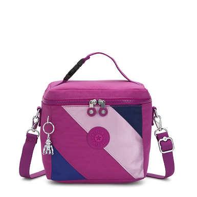 Graham Lunch Bag - Pink Mix Block