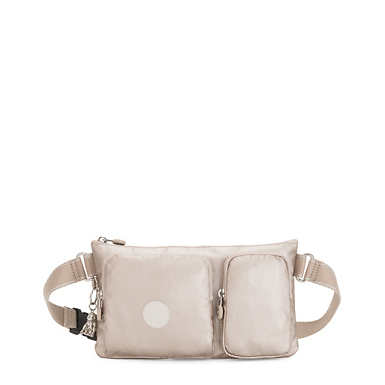 키플링 프레스토 업 벨트백 Kipling Presto Up Metallic Waist Pack,Metallic Glow